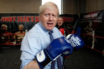 La Presse au Royaume-Uni: Johnson promet la fin du psychodrame