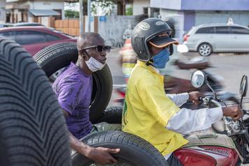 La pandémie suscite des craintes en Afrique subsaharienne)