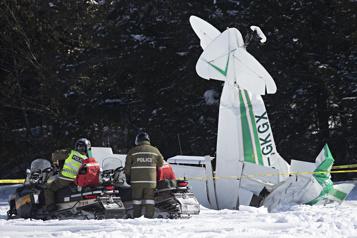 Un mort dans un accident d'avion dans les Laurentides)