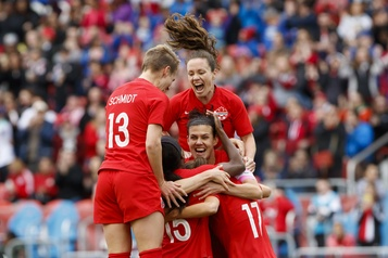 Le Canada demeure 8e au classement de la FIFA