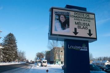 Disparition de Mélissa Blais: la famille garde espoir