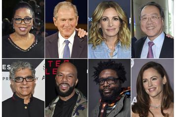 Les célébrités peinent à trouver le ton juste face à la pandémie)