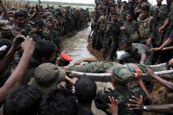 Conflit avec les Tigres tamouls Enquête sur des accusations de crimes de guerre au SriLanka)