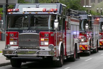 Un incendie se déclare dans un bâtiment résidentiel de Rosemont )