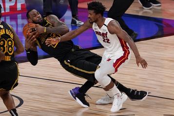 Finale de la NBA Le Heat de JimmyButler n'a pas dit son dernier mot)