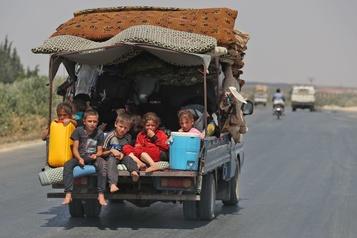 Syrie : le régime ouvre un corridor aux civils voulant fuir Idleb