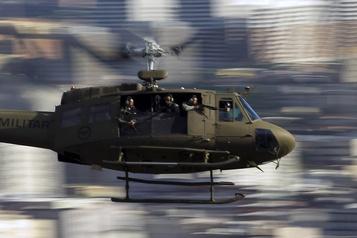 Des hélicoptères de police sèment la terreur dans les favelas de Rio