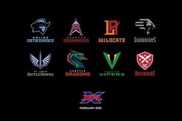 La XFL dévoile le nom de ses équipes