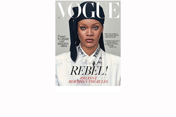 Rihanna en couverture du Vogue britannique