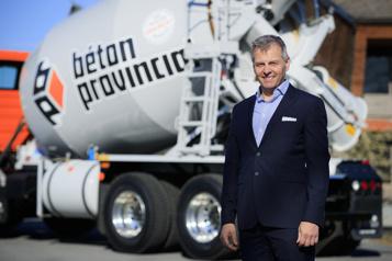 André Bélanger, PDG de Béton provincial  Une croissance coulée dans le béton)