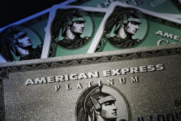 American Express affecté par une baisse des dépenses des «cols blancs»)