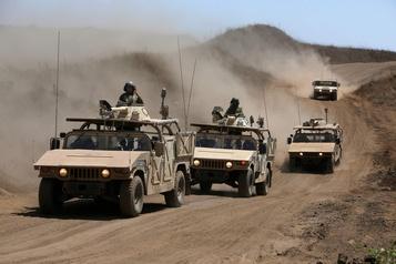 Syrie: la défense antiaérienne activée contre des raids israéliens)