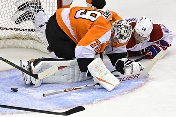 Canadien 1 – Flyers 2 (pointage final))