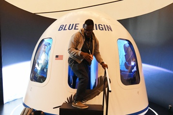 Blue Origin enverra des humains dans l'espace en juillet)