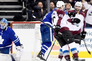 L'Avalanche bat les Leafs 3-1
