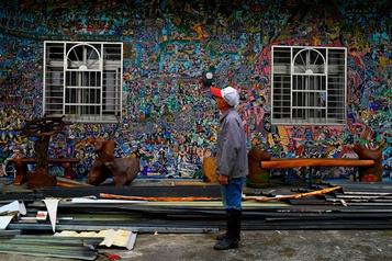 À Taïwan, un «village graffiti» veut soulager la solitude des personnes âgées