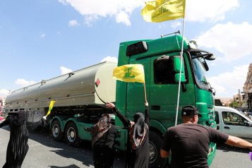 Crise au Liban Arrivée du carburant iranien acheminé par le Hezbollah)