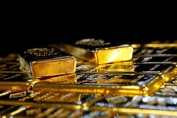 L'once d'or pour la première fois au-dessus des 2000dollars)