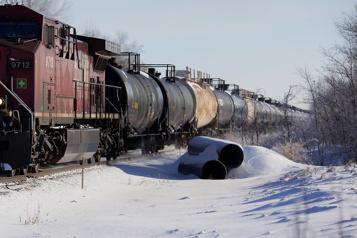 Canada Recul de 43% du transport de pétrole par rail en février)