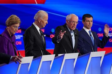 Débat démocrate: Sanders etWarren croisent le fer