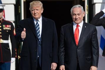Trump dévoile son plan de paix: Nétanyahou jubile, colère des Palestiniens