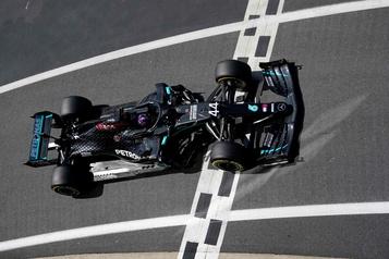 Hamilton obtient la position de tête à Silverstone, Strollau 6erang)