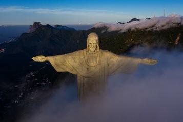 RiodeJaneiro La statue du Christ rédempteur fête ses 90ans
