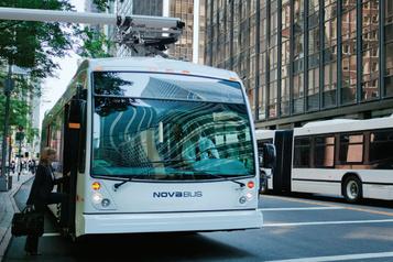 Nova Bus lance un nouvel autobus électrique à forte autonomie