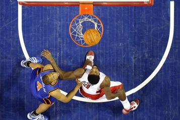 Les Raptors feront face aux Nets au premier tour)
