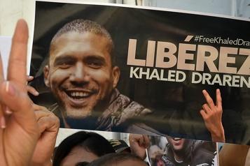 Algérie Report du procès du journaliste de TV5 Khaled Drareni)
