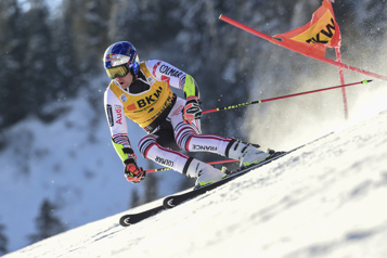 Alexis Pinturault remporte le slalom géant d'Adelboden)