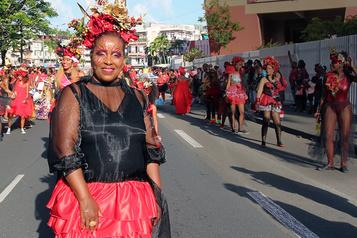 Extravagance au carnaval de la Martinique)