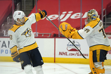 Les Predators rossent les Red Wings 7-1)
