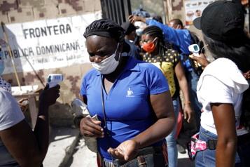 Hausse des cas de COVID-19 en Haïti)