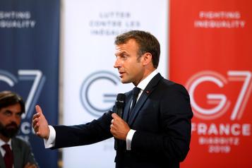 Feux en Amazonie : Macron accuse Bolsonaro à la veille du G7