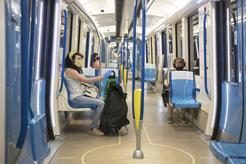 Les transports en commun inquiètent la quasi-totalité des usagers)