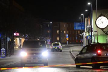 Suède Huit blessés dans une attaque à la hache, possiblement «terroriste»)