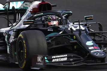 Grand Prix de l'Eifel Lewis Hamilton égale le record de victoires de Michael Schumacher)