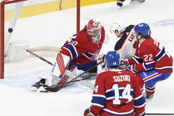 Les Oilers battent le Canadien 4-3 en prolongation)