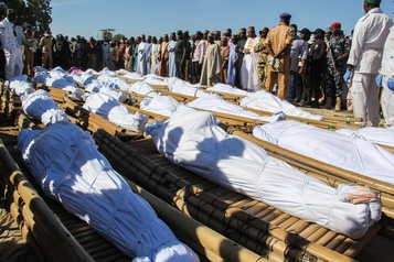 Nigeria Au moins 110civils tués dans une attaque de BokoHaram)