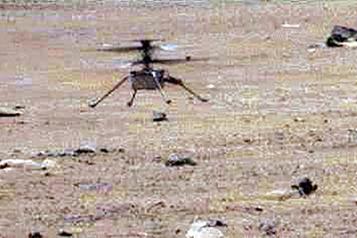 Après six mois sur Mars, l'hélicoptère de la NASA a atteint des sommets)