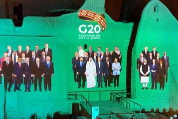 Justin Trudeau participe au Sommet virtuel du G20)