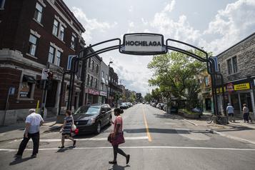La rue Ontario se piétonnise à l'image d'un «beer garden» )