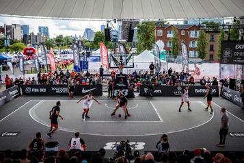 Tournoi de basketball 3x3 = succès