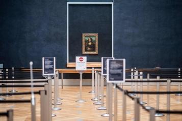 Chute de 77% de la fréquentation dans les musées en 2020)