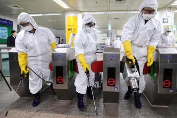 Coronavirus: 571nouveaux cas enregistrés en 24heures en Corée du Sud