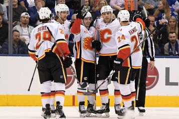 Les Flames gagnent en fusillade à Toronto