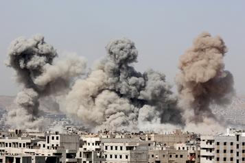 Guerre en Syrie Damas doit rendre des comptes pour des «crimes horribles», estime LaHaye)