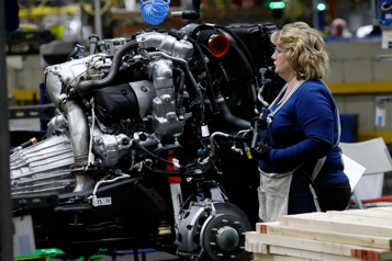 États-Unis La production industrielle s'améliore en avril, l'automobile au ralenti)