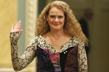 Le palais de Buckingham informé du départ de Julie Payette)